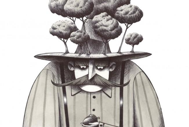 L'uomo che piantava gli alberi #1 gallery Andrea Oberosler