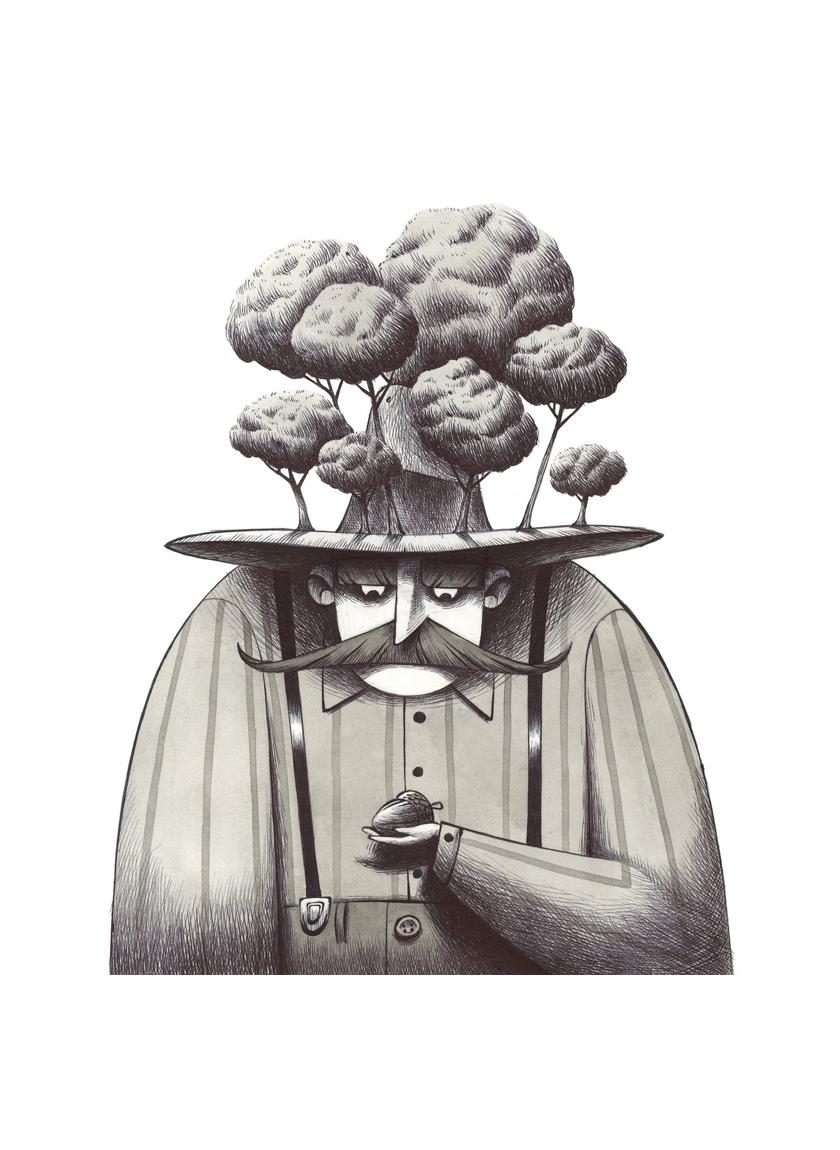L'uomo che parlava agli alberi gallery Andrea Oberosler